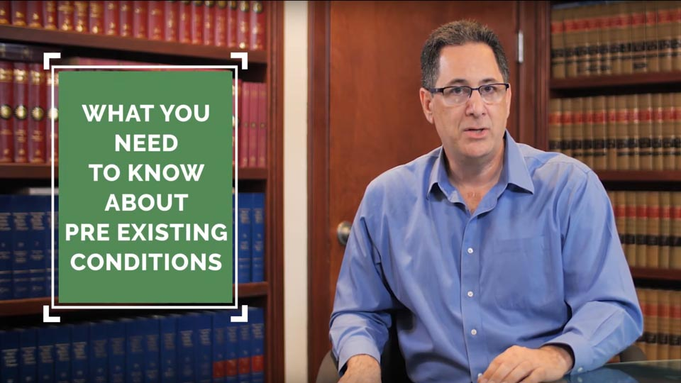 what you need to now about pre existing conditions